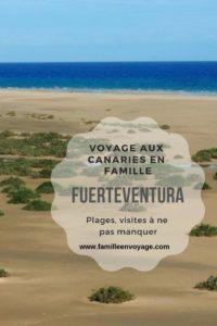 voyage en famille aux canaries fuerteventura
