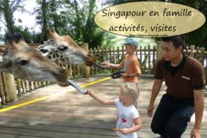 singapour en famille activités, adresse en famille