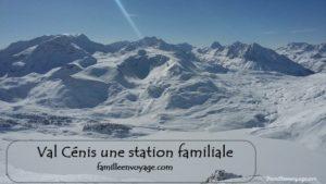 val cénis station ski famille