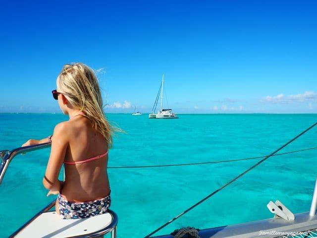 location catamaran en polynésie