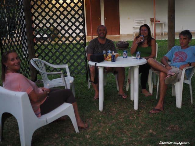 voyage en famille en polynésie camping