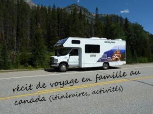 voyage en camping car au canada