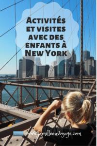 Voyage à New York en famille